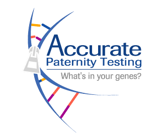 Accurate Paternity Testing Logo Design