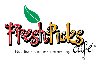 Fresh Picks Cafe Logo Design
