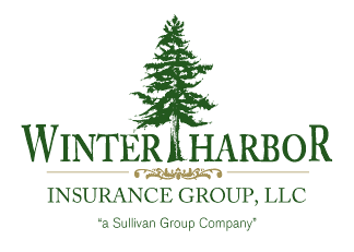 Winter Harbor Insurance Logo Design
